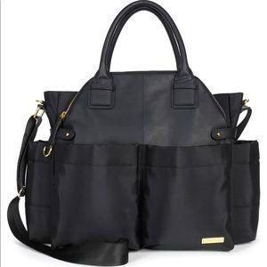 SKIP*HOP® Chelsea Diaper Bag in Black